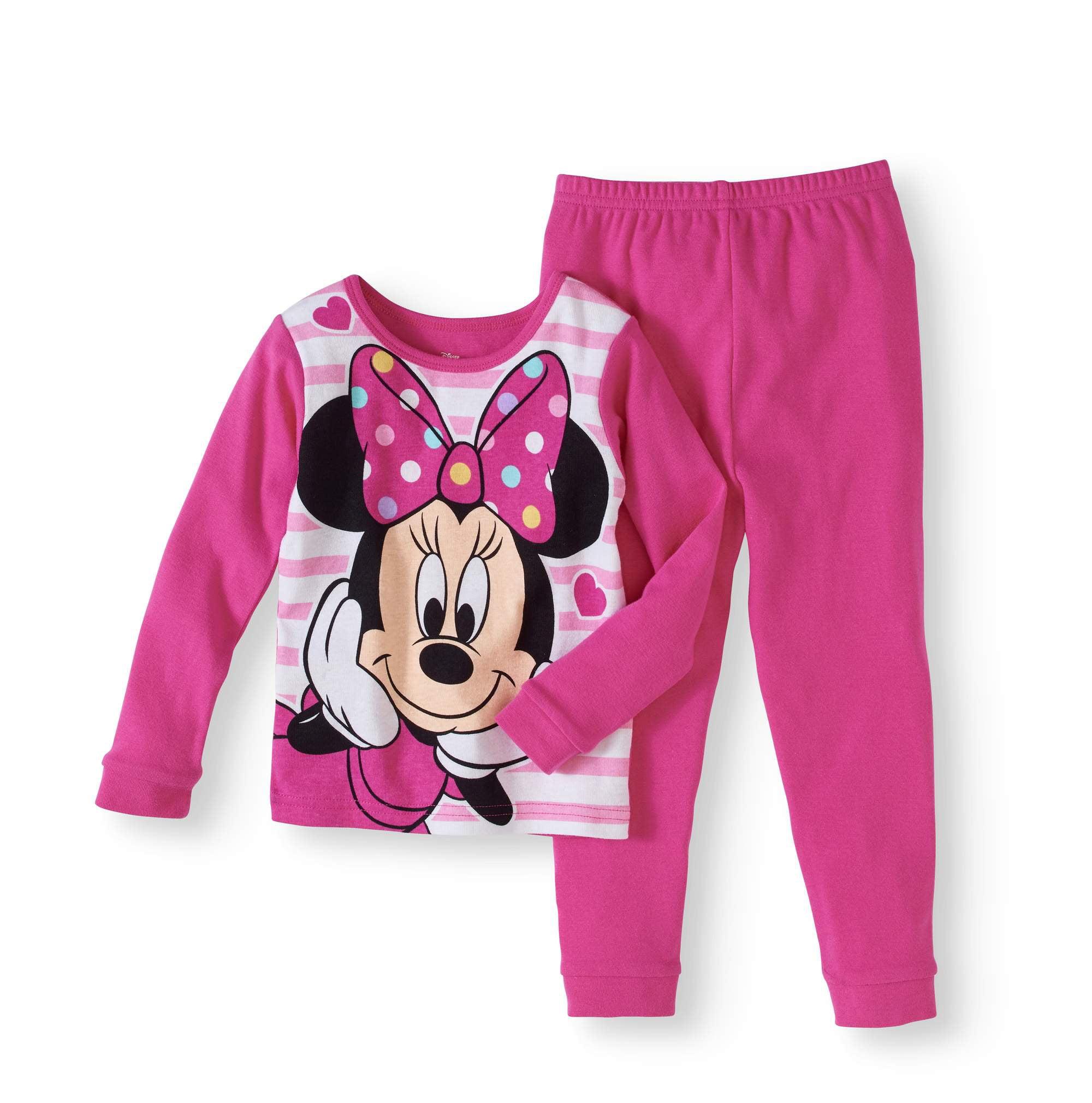 Baby Toddler Girl Cotton Tight Fit Pajama, 2pc Set