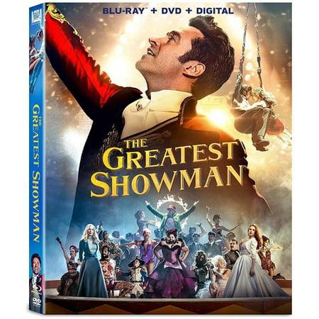 The Greatest Showman (Blu-ray + DVD + Digital) (Freund Ray Bans)