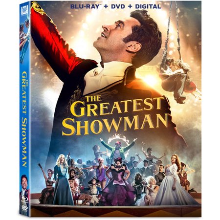 The Greatest Showman  Blu Ray   Dvd   Digital