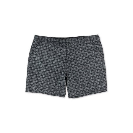 e04a472694 Marc Anthony - Marc Anthony Mens Slim-Fit Mini Print Swim Bottom Trunks -  Walmart.com