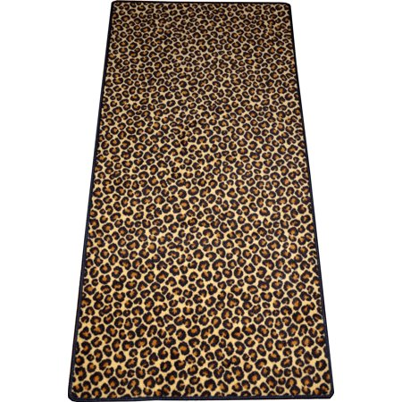 Dean Leopard Animal Print 30 Quot X 6 Carpet Runner Rug