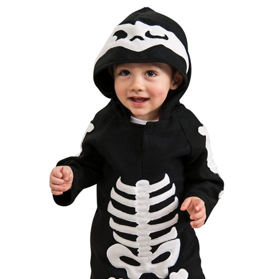 baby skeleton toddler halloween costume 3t 4t walmartcom