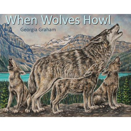 When Wolves Howl - Halloween Howling Wolves