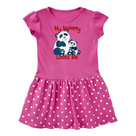 My Mommy Loves Me Panda Infant Dress - Walmart.com 2f12f8abe7cf