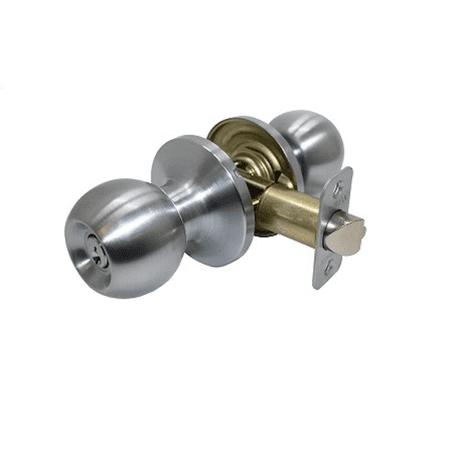 Promax PT3S00 Southgate Entrance Lock,Satin (Chrome Entrance)