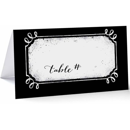 Scroll Place Card Standard Place Card ()