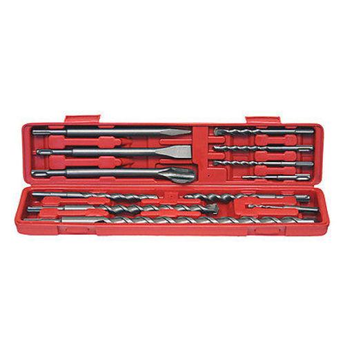 12pc SDS Plus Type Hammer Drill Bits Set Concrete Masonry Chisel Carbide 14380 by