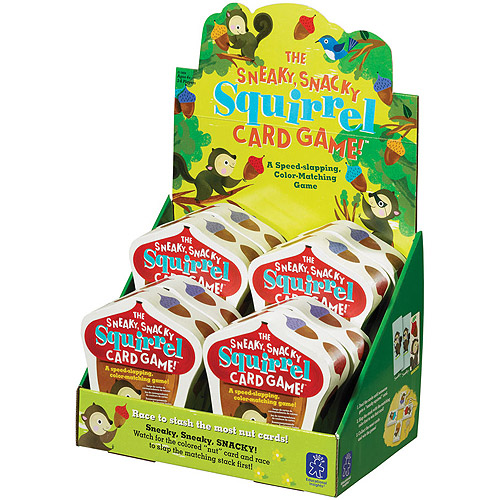 Educational Insights The Sneaky, Snacky Squirrel Card Game Party Pack