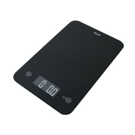 American Weigh Scales ONYX-5K-BK Digital Kitchen Scale Black