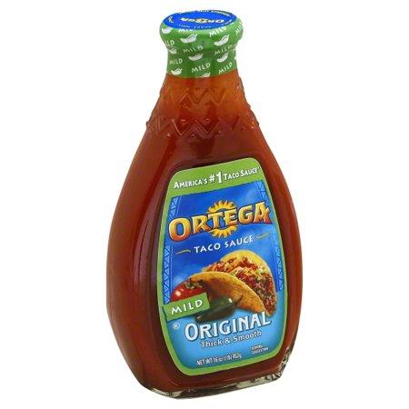 Ortega® Original Mild Taco Sauce 16 oz. Glass