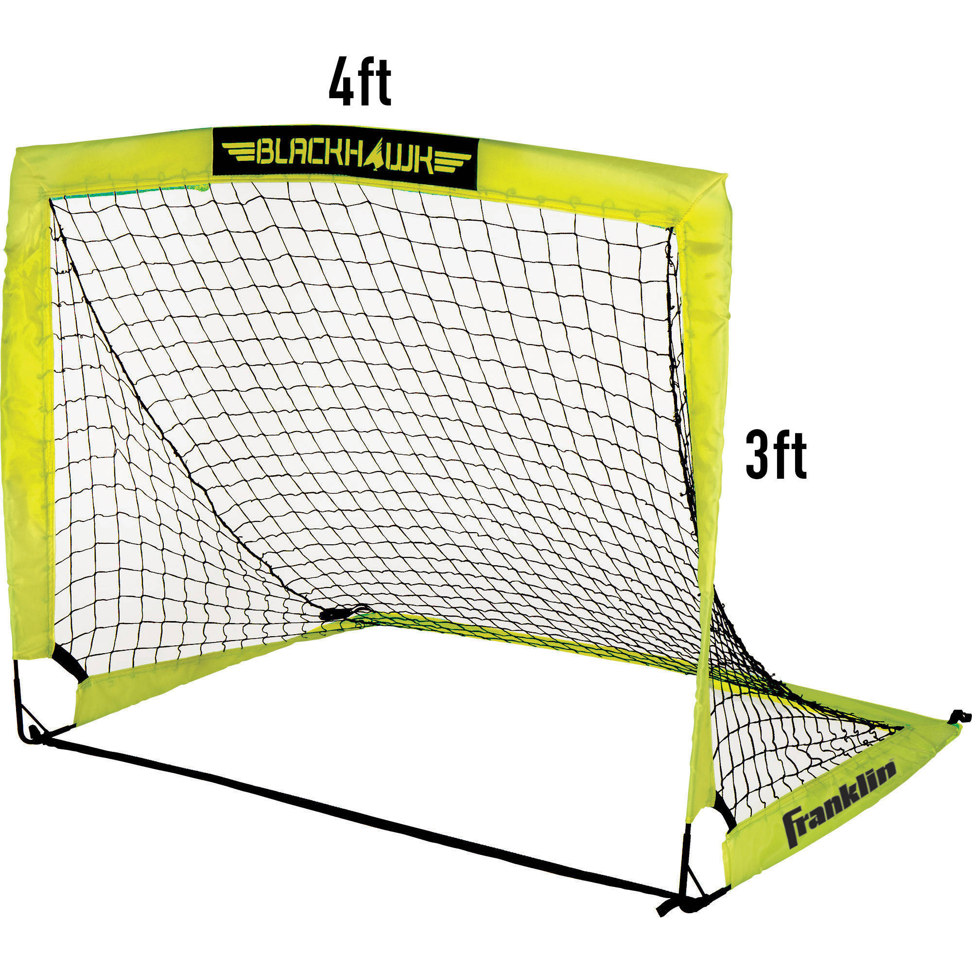 Franklin Sports 9' x 5' Blackhawk Portable Soccer Goal