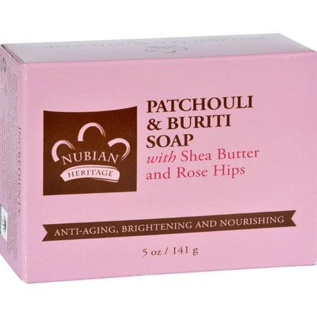 Sundial Brands Nubian Heritage  Soap, 5 oz