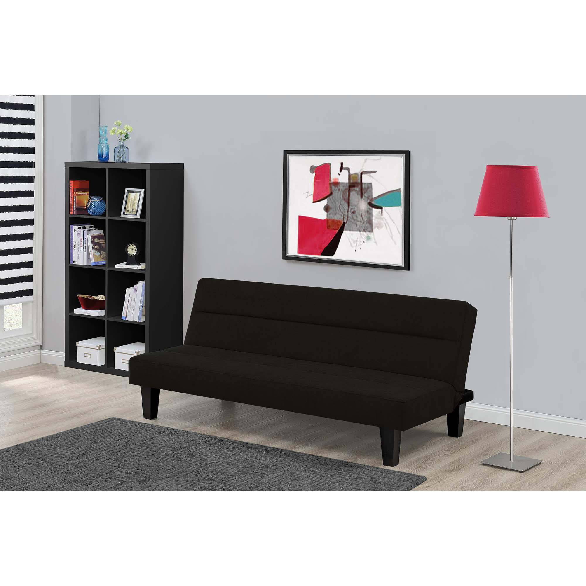 modern two tone velvet fabric living room love seat sofa - walmart