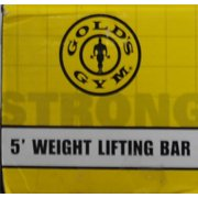 Gold S Gym Weight Lifting Bar 5 Standard Image