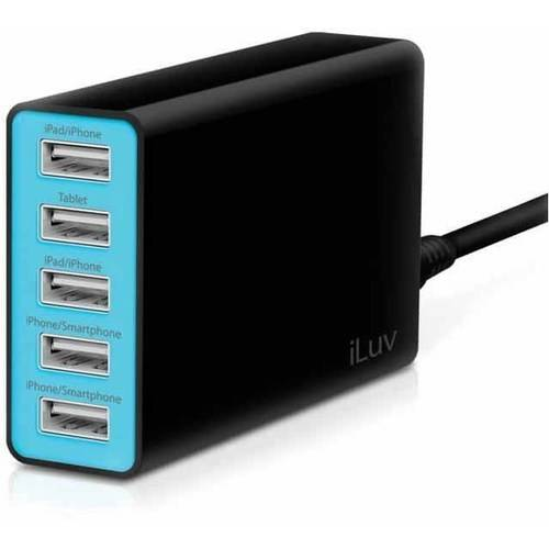iLuv RockWall 5 Compact USB Charger