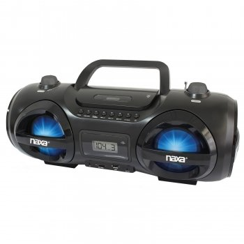 NAXA NPB-258 MP3 CD Party Boombox & USB SD(TM) Card Player by Naxa