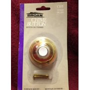 Broan Chime Button Solid Brass C835