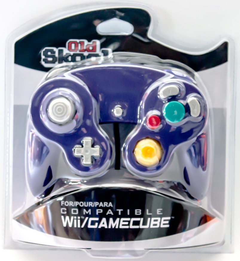 GameCube / Wii Compatible Controller - Purple