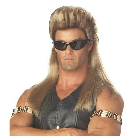 Bail Enforcer Blonde Wig for Men