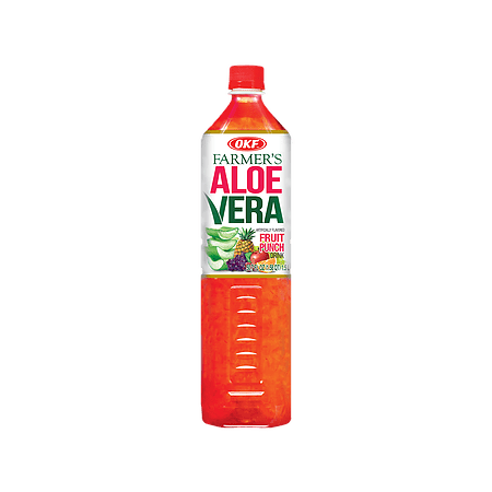 OKF Farmer's Aloe Vera Drink, Fruit Punch, 1.5 Liter (Pack of 12)](Alcoholic Halloween Punch Drinks)