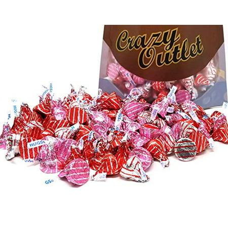 Hershey's Hugs, Valentine's Day Kisses Assortment (Pack of 2-pound bag)](Hershey Hugs)