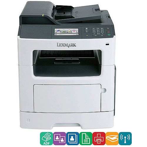 Lexmark MX410DE Monochrome Laser MultiFunction Printer