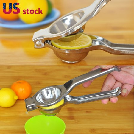 Tomato Squeezer - Lemon Squeezer Juicer Stainless Steel Orange Fruit Hand Press Manual Squeezer Juicer