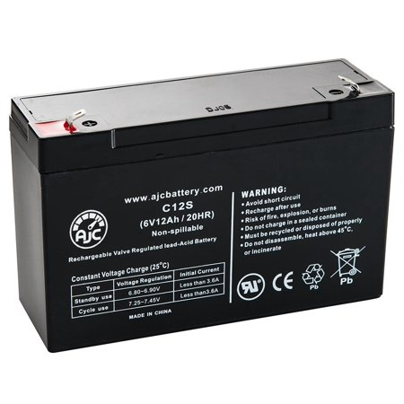 APC Back-UPS 600 (BK600) 6V 12Ah UPS Battery - This is an AJC Brand Replacement - image 5 of 5