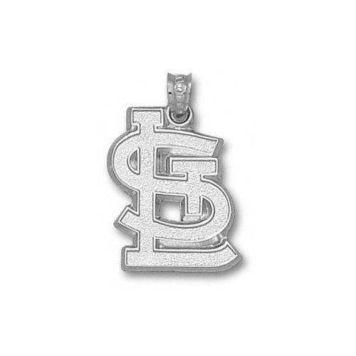 MLB - St. Louis Cardinals 3/4'' Sterling Silver ''STL'' Pendant