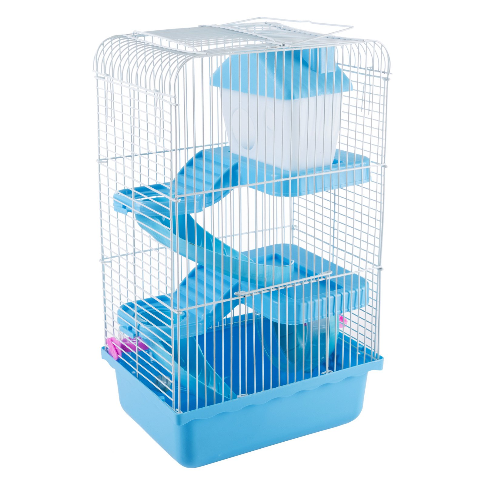 Petmaker Hamster Cage Habitat with Attachments and Accessories