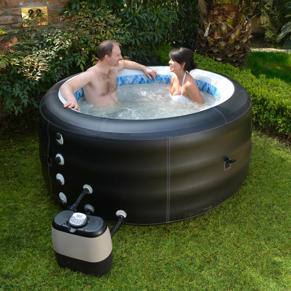BlueWave SPAS AND ACCESSORIES NP5767 Pinnacle Spa Deluxe Inflatable Hot Tub by Blue Wave