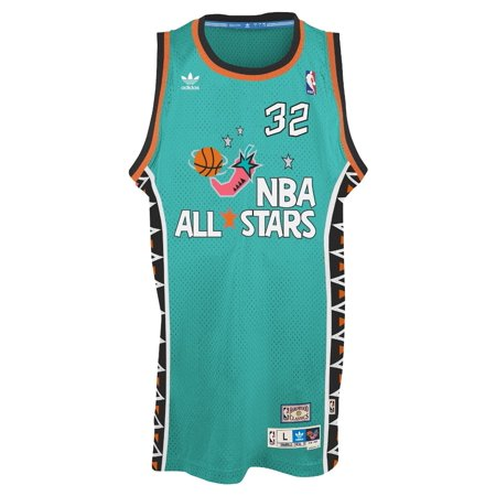 adidas - Shaquille O Neal Adidas NBA Throwback 1996 All-Star East Swingman  Jersey - Teal - Walmart.com 4ee8272b0