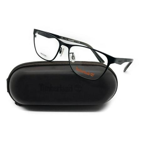 Timberland Black Eyeglasses Remove Demo lenses for RX TB1541 V 002 54MM