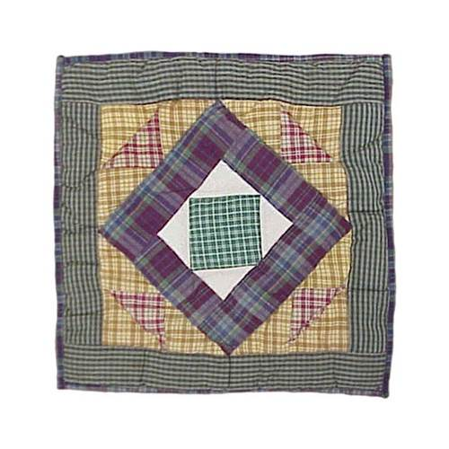 Square Diamond Toss Pillow