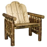 Glacier Country Collection Deck Chair, Exterior Stain Finish