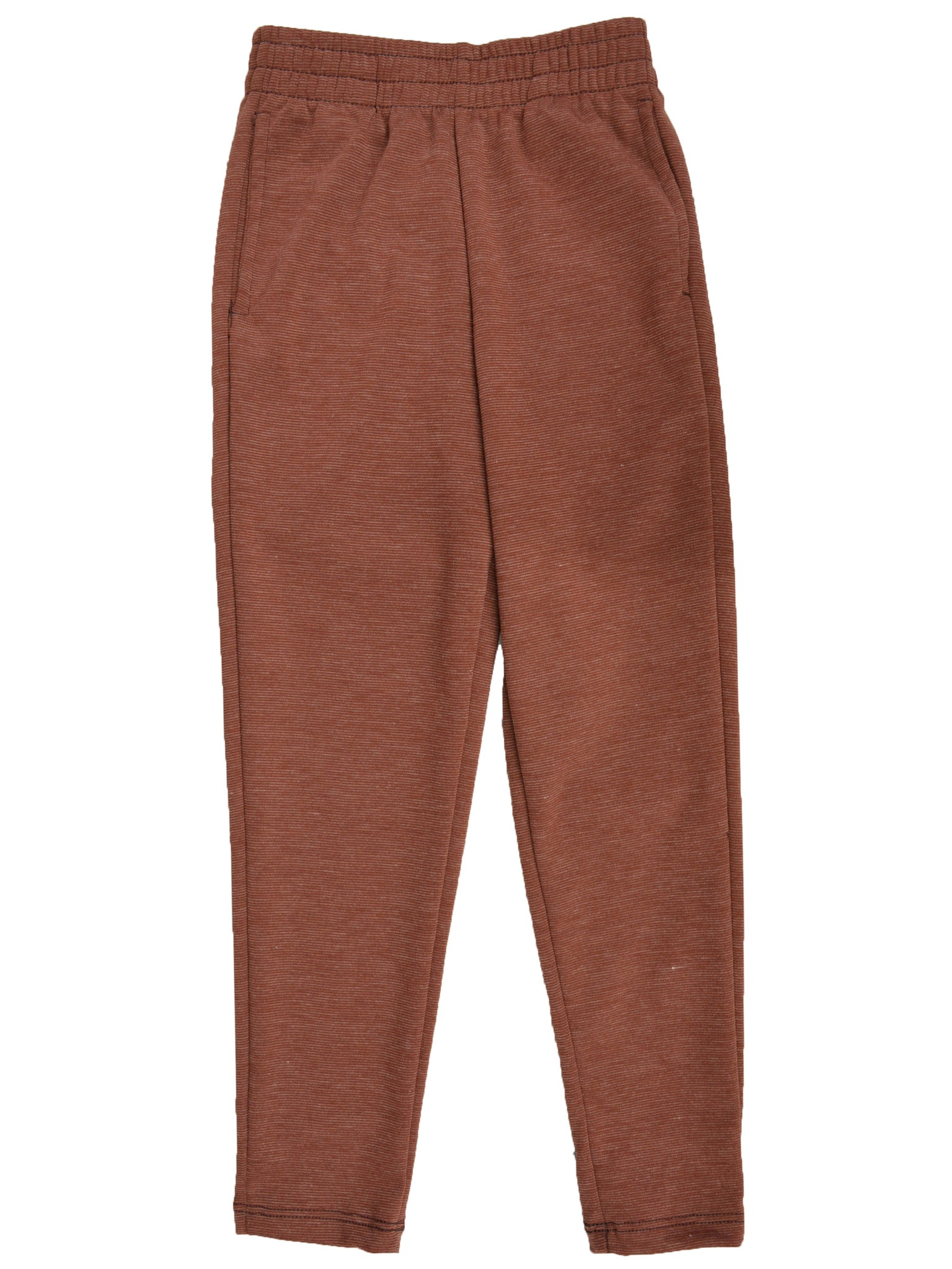 Boy's Slim Fit Jogger Play Pant - Small 6 / Brown