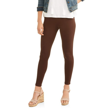 65390d381b5 Time and Tru Women s Full Length Soft Knit Color Jegging - Walmart.com