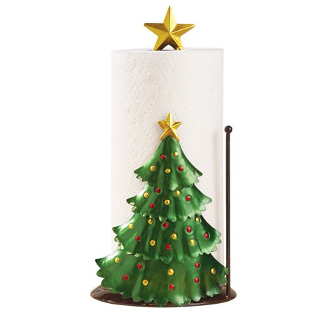 Christmas Kitchen Decoration - Christmas Tree Paper Towel Holder - Walmart.com