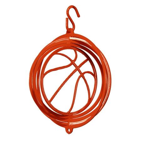 SWEN Products BASKETBALL Tini Swirly Christmas Tree Ornament