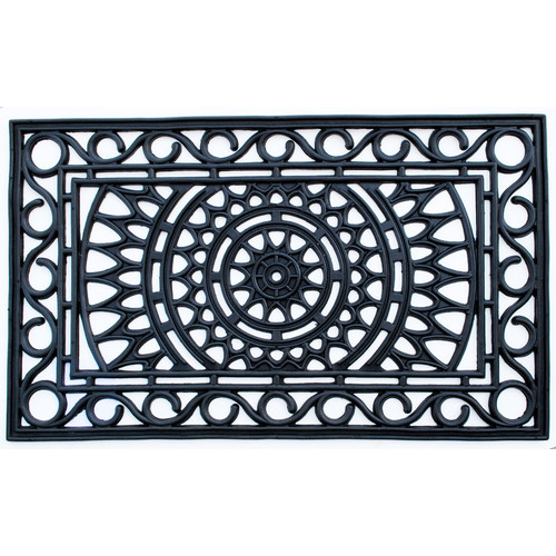 Imports Decor Molded Sunrise Doormat