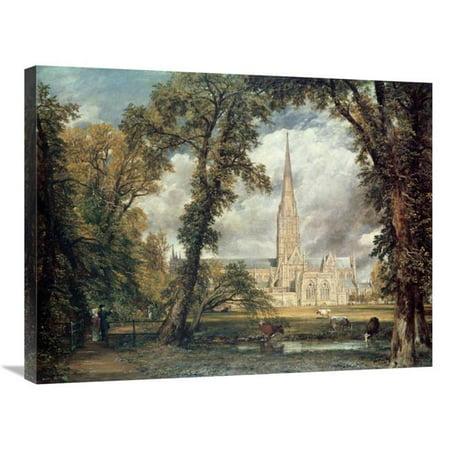 30 in Salisbury Cathedral Art Print John Constable