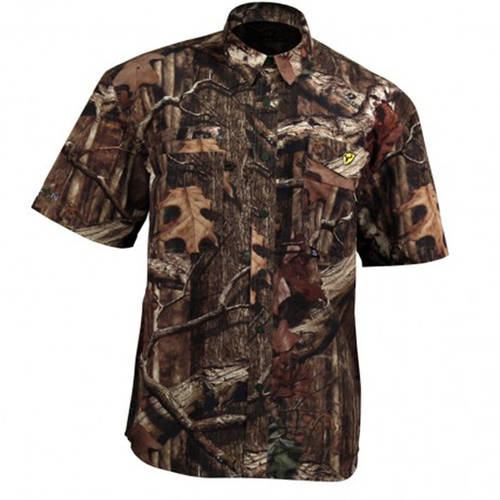 Recon Lifestyle Short Sleeve Shirt ScentBlocker, Stone, Available in Multiple Sizes