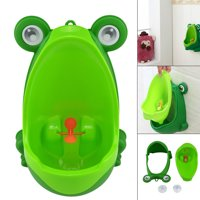 Frog Potty Training Urine Urinal Toilet for Children Kids Toddler Baby Boys Pee Trainer Funny Aiming Target 11.42 x 7.68 x 6.69in