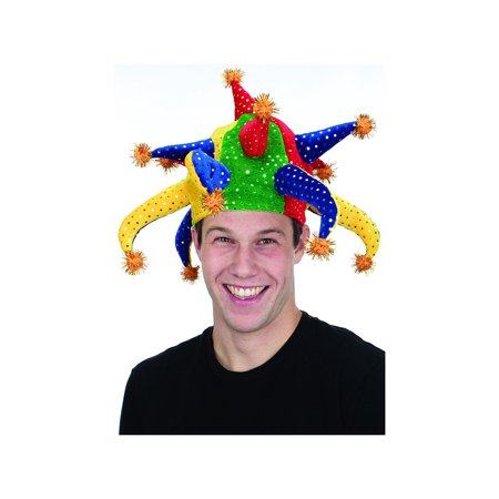 Adult Velvet Jester Hat by Jacobson Hat 21367 (Kids Jester Hat)