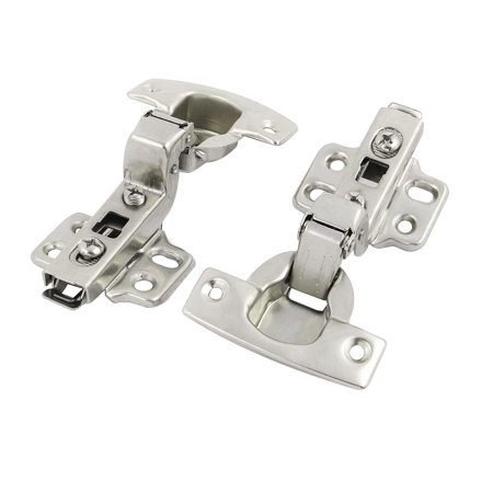 Uxcell Stainless Steel Concealed Face Frame Self Closing Cabinet Hinge