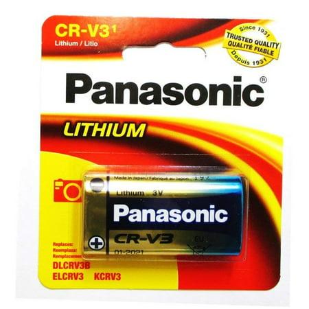 12-Cards CRV3 Panasonic Lithium 3 Volt Battery (CR-V3) - image 1 de 1
