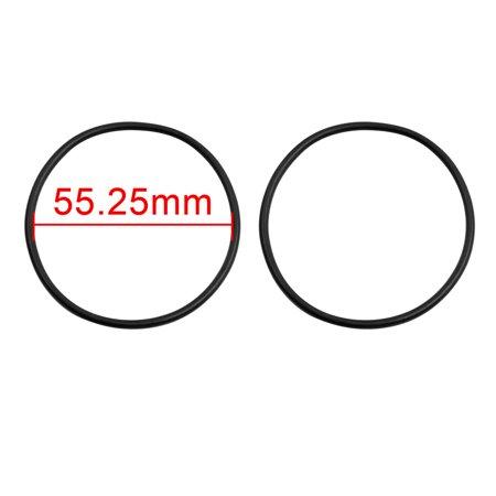 15pcs Black NBR70 O-Ring Washer Sealing Gasket for Automotive Car 55.25 x 2.62mm - image 1 of 2