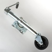 Bolt On Tongue Jack Stand Lift for Utility Boat Enclosed Trailer with Wheel