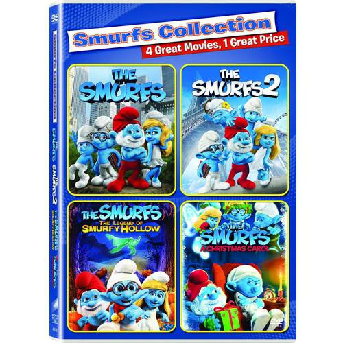 The Smurfs 1 And 2 / Smurfs: Legend Of Smurfy Hollow / Smurfs Christmas Carol