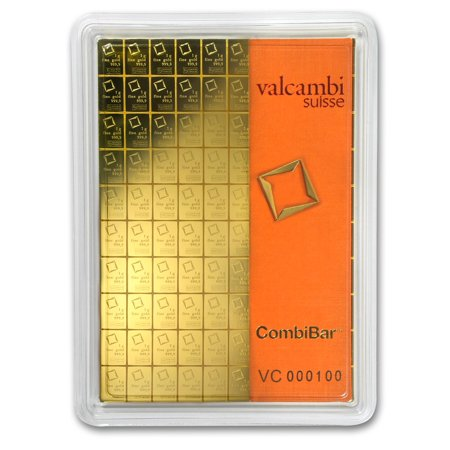 100x 1 gram Gold CombiBar™ - Valcambi (In Assay) ()